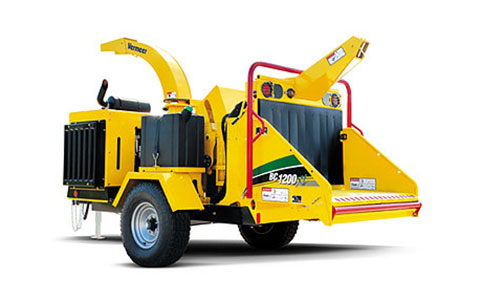 12 In Towable Wood Chipper