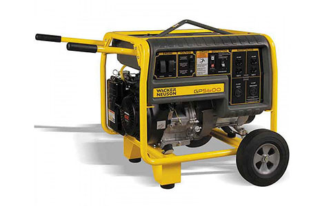 5-5.9 KW Portable Gas Generator