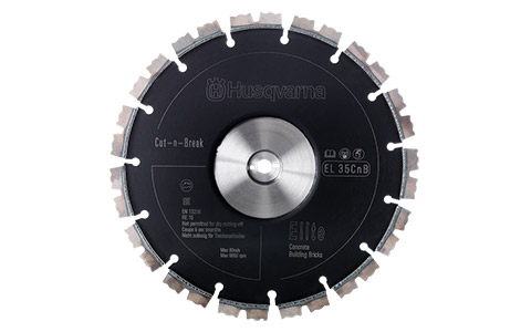 9 In Concrete Cut and Break Blade Set